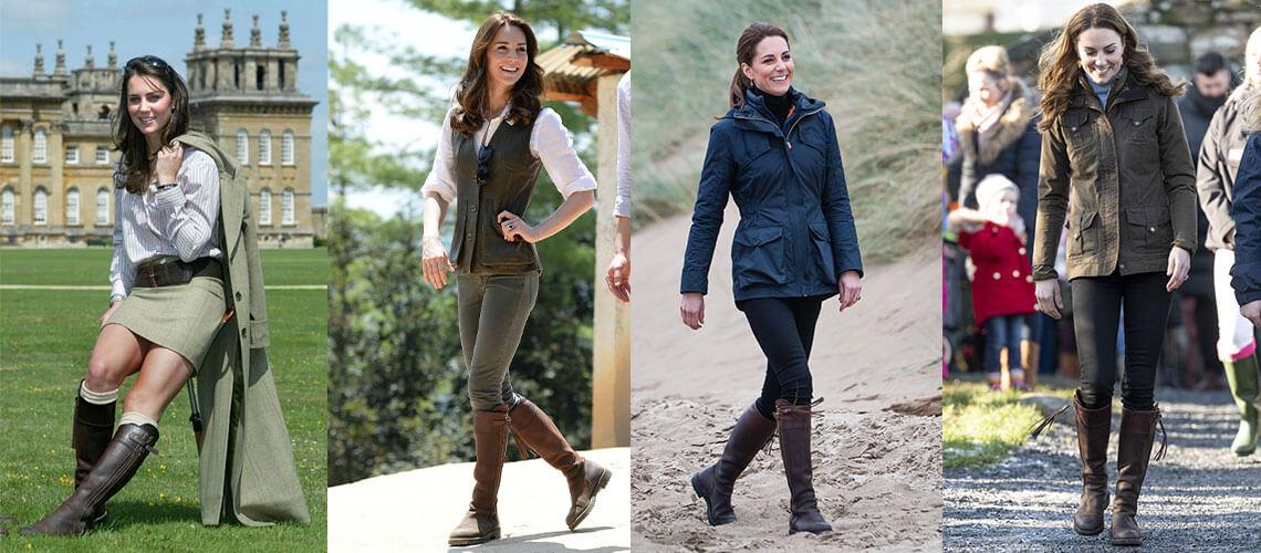 Kate Middleton Wearing High Boots