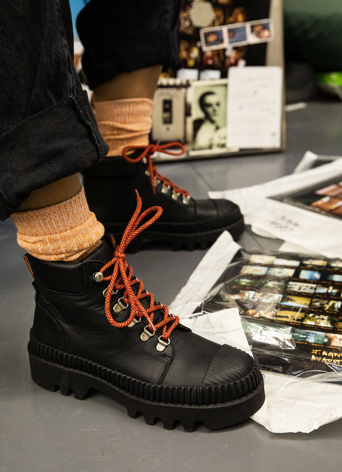 Geographer Boots